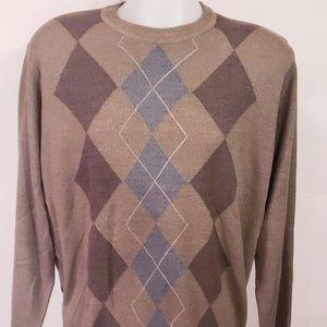 Mens Dockers Crewneck Sweater Long Sleeve Lrg
